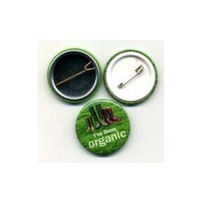 Branded 32mm Circle Button Badges