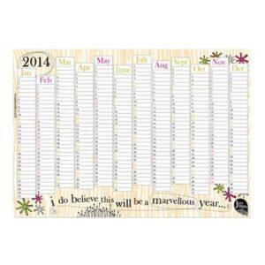 Branded A3 Wall Planner