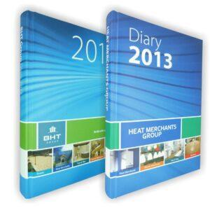 Branded Prismalux A5 Full Colour Diaries