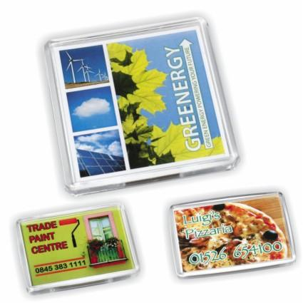 Branded Acrylic Magnets