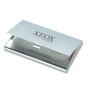 Branded Aluminium Business Card Holder