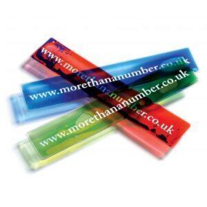 Branded Aqua Bookmarks
