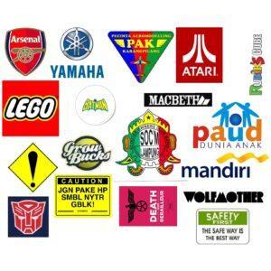 Branded Bespoke Car Stickers