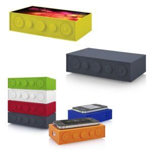 Branded Blasting Brick Speakers