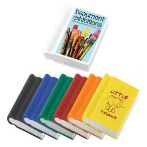 Branded Book-shape Eraser