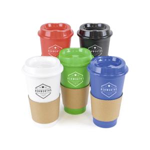 Branded Budget Café Travel Mugs
