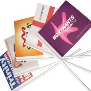 Branded Hand Flags