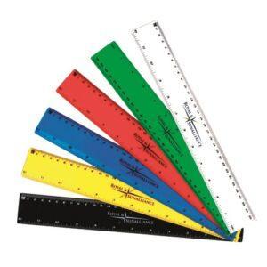 Branded Budget Rulers 30cm