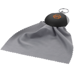 Branded Cleaning Cloth Keyring