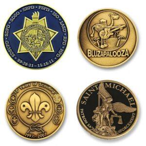 Range of Customised Coins