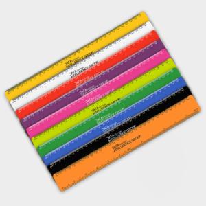 Branded Flexible Rulers