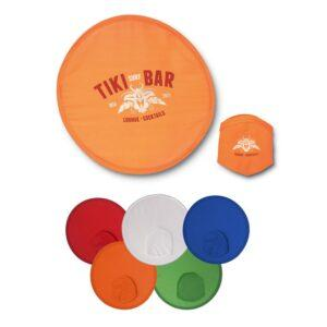 Branded Fold Up Frisbee