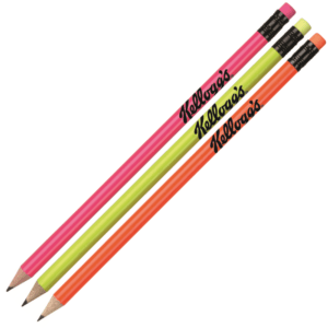 Branded Funky Neon Pencil