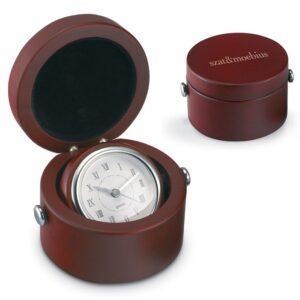 Branded Helio Travel Clock