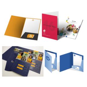 Branded Interlocking Conference Folders