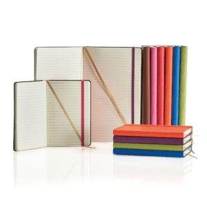 Branded Ivory Tucson Flexible Notebooks