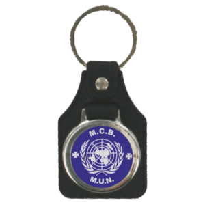 Branded Leatherette Keyfob
