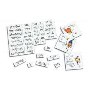 Personalised Magnetic Words