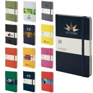 Branded Moleskine Hardbacked Notebook