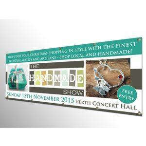 Personalised PVC Banner