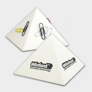 Branded Paper Clip Pyramid