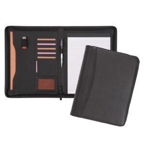 Branded Pembury A4 Zipped Folder