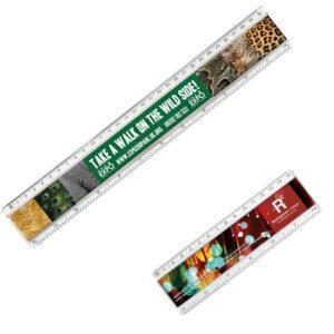 Branded Plastic Insert Rulers