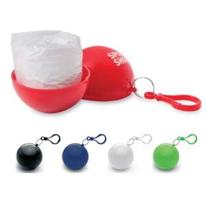 Branded Poncho Pod Keyrings