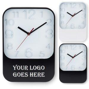 Branded Rectangular Wall Clock