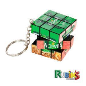 Branded Rubiks Keyring