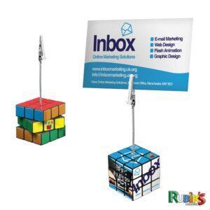 Branded Rubiks Memo Clip
