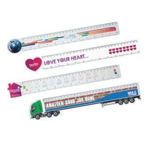 Branded Shaped Rulers