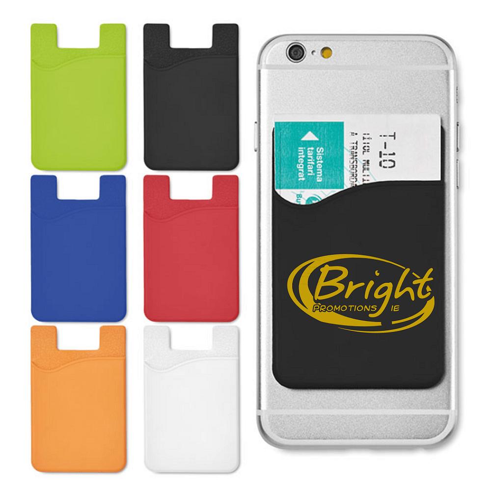 Branded Smartphone Silicard Holder
