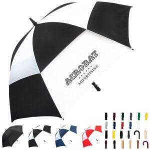 Branded Spectrum Sport Vented Umbrellas