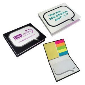 Branded Speech Bubble Combo Pads
