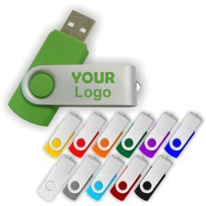 Branded Twister USB Memory Sticks