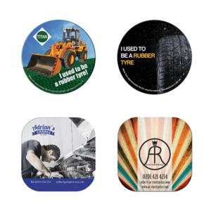 Branded Tyre Brite-Mat Coasters ®