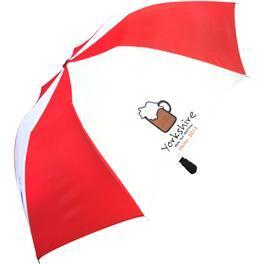 Branded Unisex Folding Umbrella