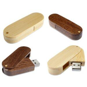 Branded Wooden USB Flash Drive