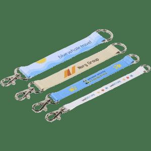Digitally Printed Keyrings