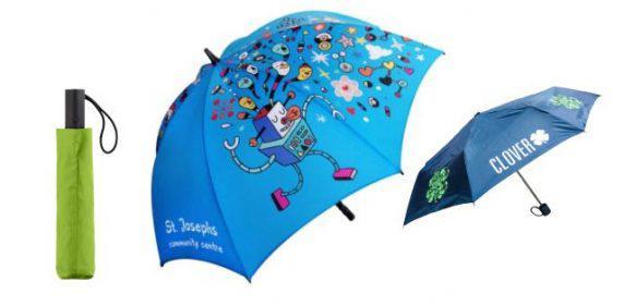 Printed Umbrellas